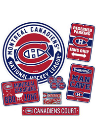 Montreal Canadiens Ultimate Fan Set Sign