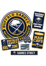Buffalo Sabres Ultimate Fan Set Sign