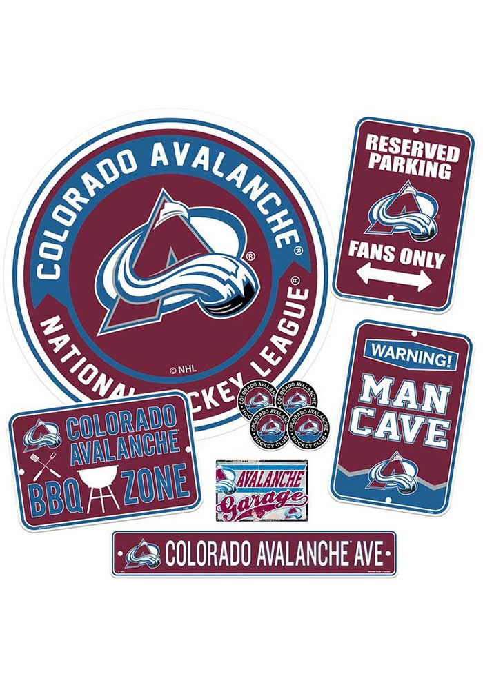 Colorado Avalanche Ultimate Fan Set Sign - Image 1