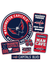 Washington Capitals Ultimate Fan Set Sign