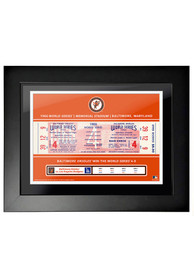 Baltimore Orioles 1966 World Series Ticket Framed Posters