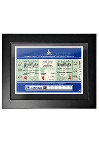 Los Angeles Dodgers 1959 World Series Ticket Framed Posters