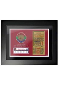 New York Giants 1933 World Series Ticket Framed Posters