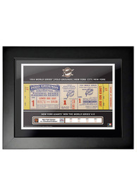 New York Giants 1954 World Series Ticket Framed Posters