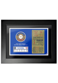 New York Yankees 1923 World Series Ticket Framed Posters
