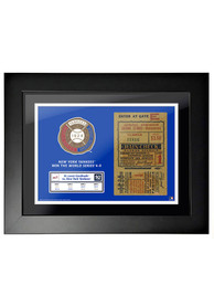 New York Yankees 1928 World Series Ticket Framed Posters