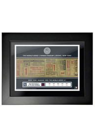 New York Yankees 1943 World Series Ticket Framed Posters