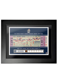 New York Yankees 1951 World Series Ticket Framed Posters