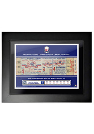 New York Yankees 1952 World Series Ticket Framed Posters
