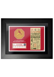 St Louis Cardinals 1926 World Series Ticket Framed Posters