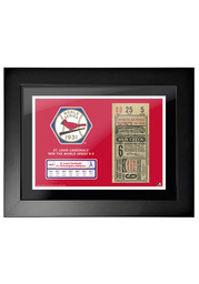 St Louis Cardinals 1931 World Series Ticket Framed Posters