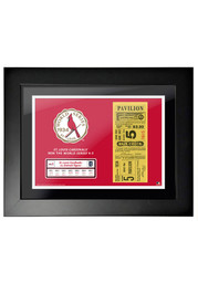 St Louis Cardinals 1934 World Series Ticket Framed Posters