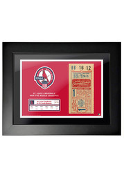 St Louis Cardinals 1944 World Series Ticket Framed Posters