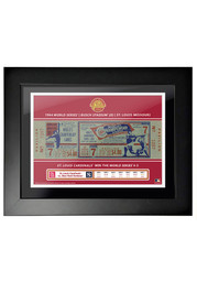 St Louis Cardinals 1964 World Series Ticket Framed Posters