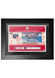 St Louis Cardinals 1967 World Series Ticket Framed Posters