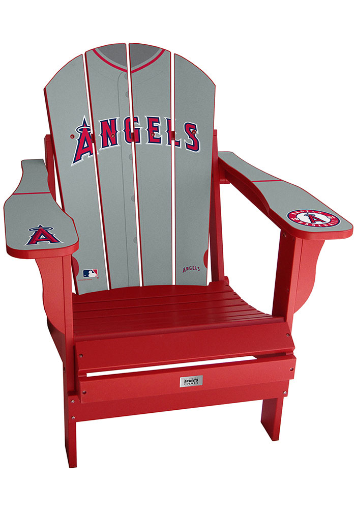 Los Angeles Angels Jersey Adirondack Chair Beach Chairs - Image 1