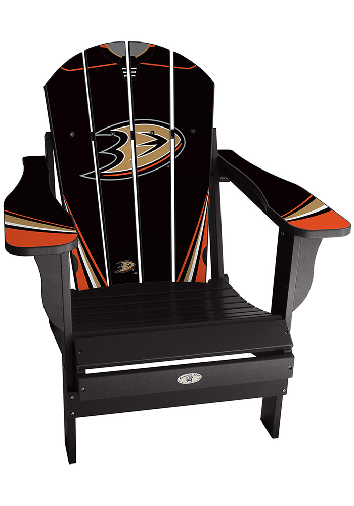 Anaheim Ducks Home Jersey Adirondack Deluxe Chair - Image 1