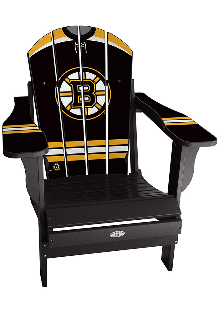 Boston Bruins Home Jersey Adirondack Deluxe Chair - Image 1