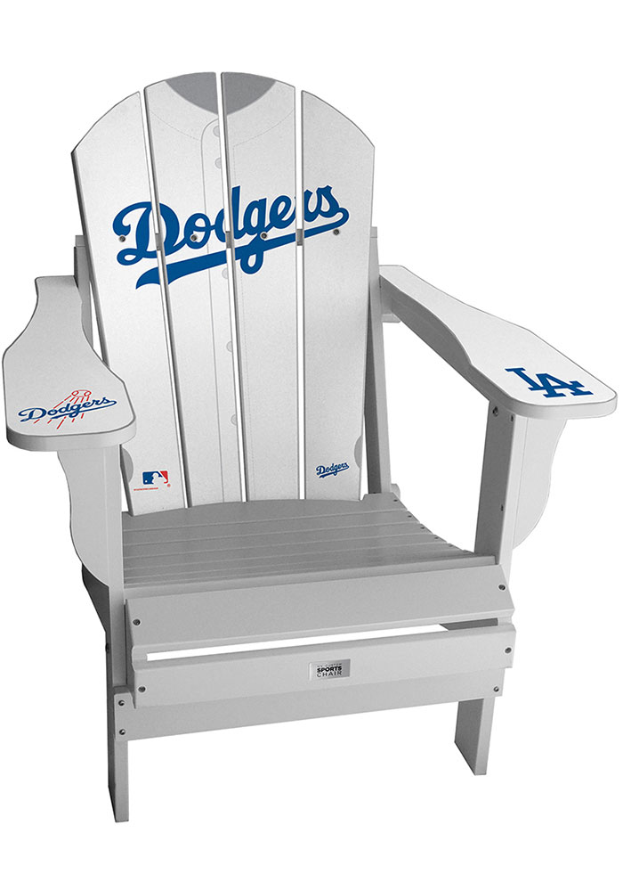 Los Angeles Dodgers Jersey Adirondack Chair Beach Chairs - Image 1