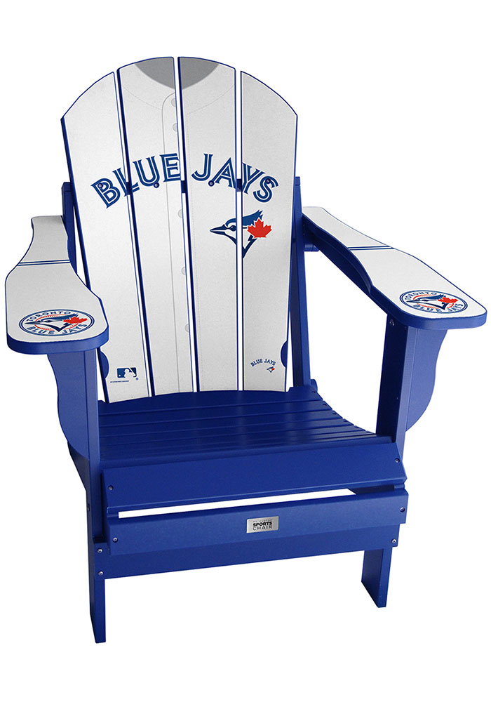 Toronto Blue Jays Jersey Adirondack Chair Beach Chairs - Image 1