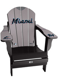 Miami Marlins Jersey Adirondack Chair Beach Chairs