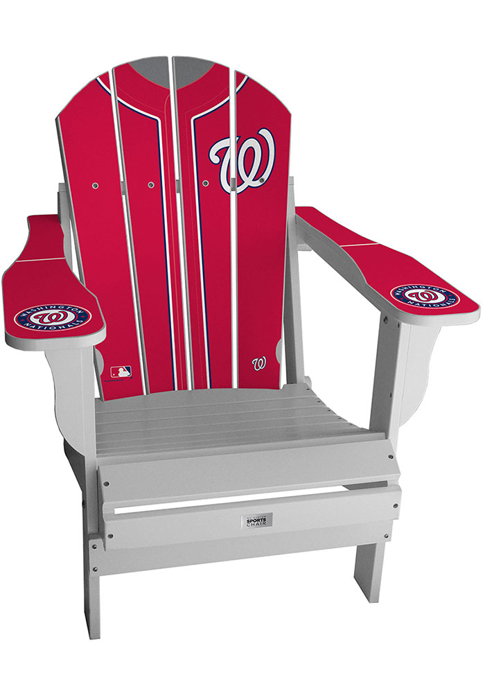 Washington Nationals Jersey Adirondack Chair Beach Chairs - Image 1