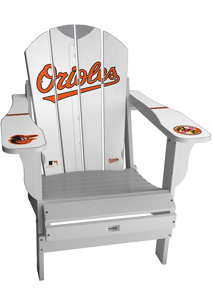 Baltimore Orioles Jersey Adirondack Chair Beach Chairs - Image 1