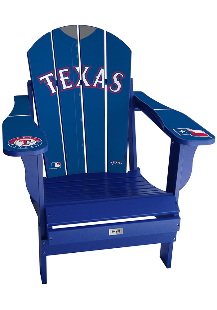 Texas Rangers Jersey Adirondack Chair Beach Chairs - Image 1