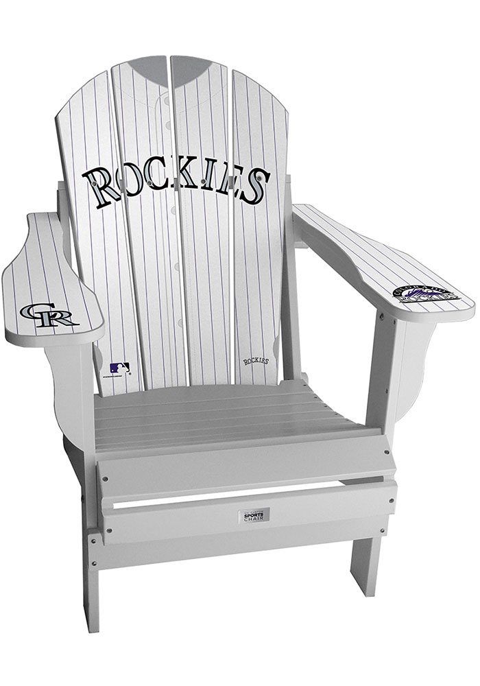 Colorado Rockies Jersey Adirondack Chair Beach Chairs - Image 1