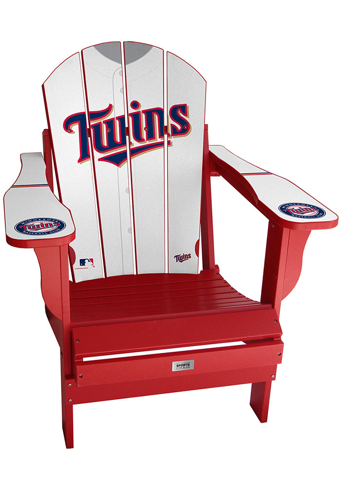 Minnesota Twins Jersey Adirondack Chair Beach Chairs - Image 1