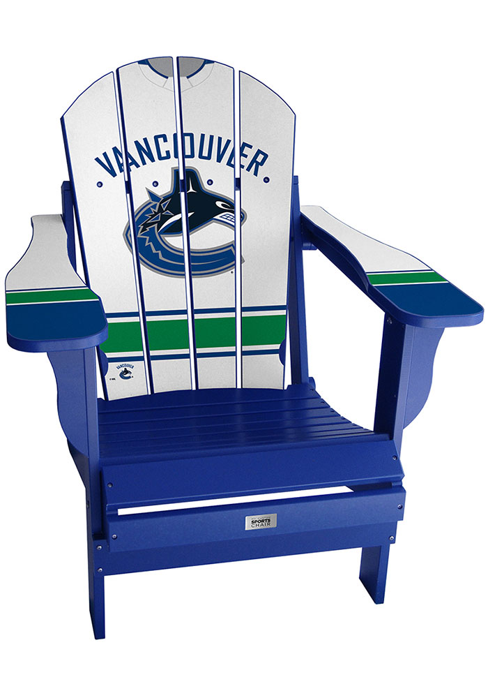 Vancouver Canucks Jersey Adirondack Beach Chairs