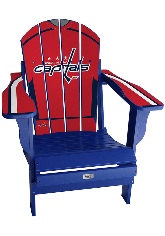 Washington Capitals Jersey Adirondack Beach Chairs - Image 1