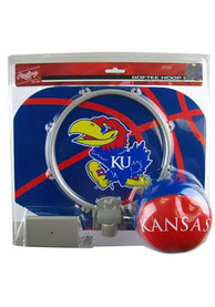 Kansas Jayhawks Slam Dunk Hoopset Basketball Set