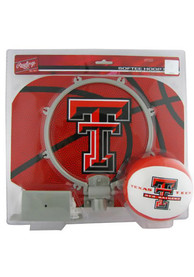 Texas Tech Red Raiders Slam Dunk Hoopset Basketball Set