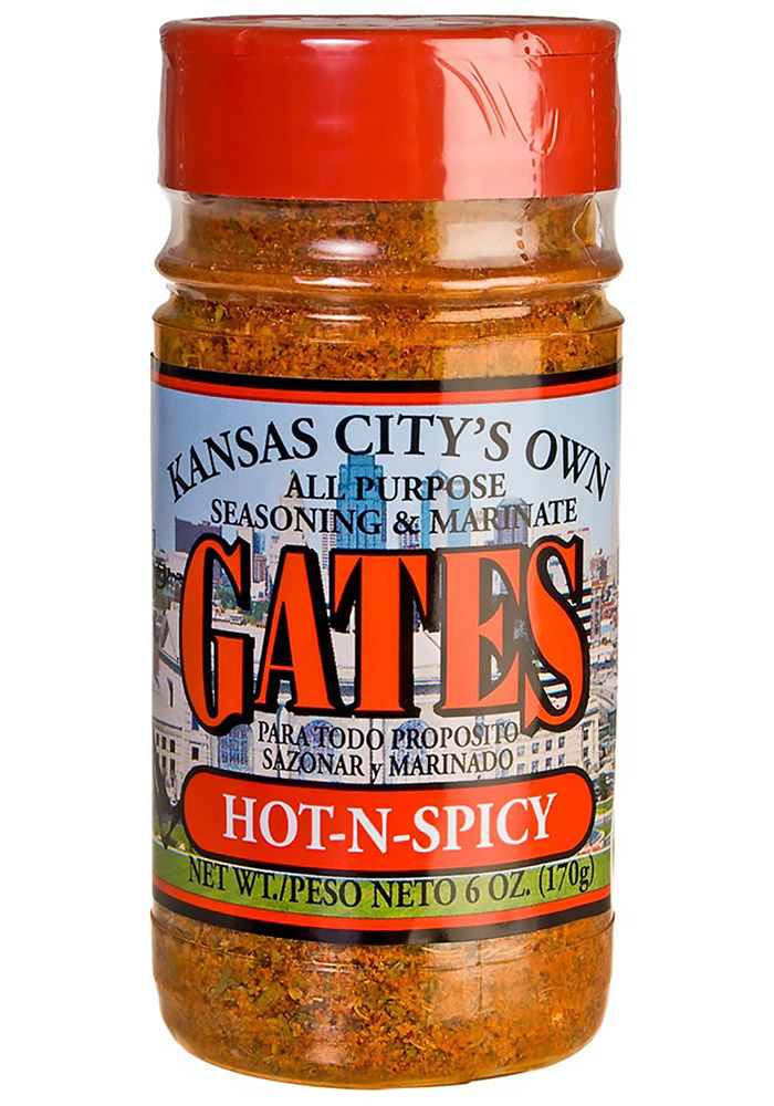 6oz Hot N Spicy BBQ Sauce - Image 1