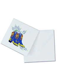 Texas Blue Bonnets and Boots Card