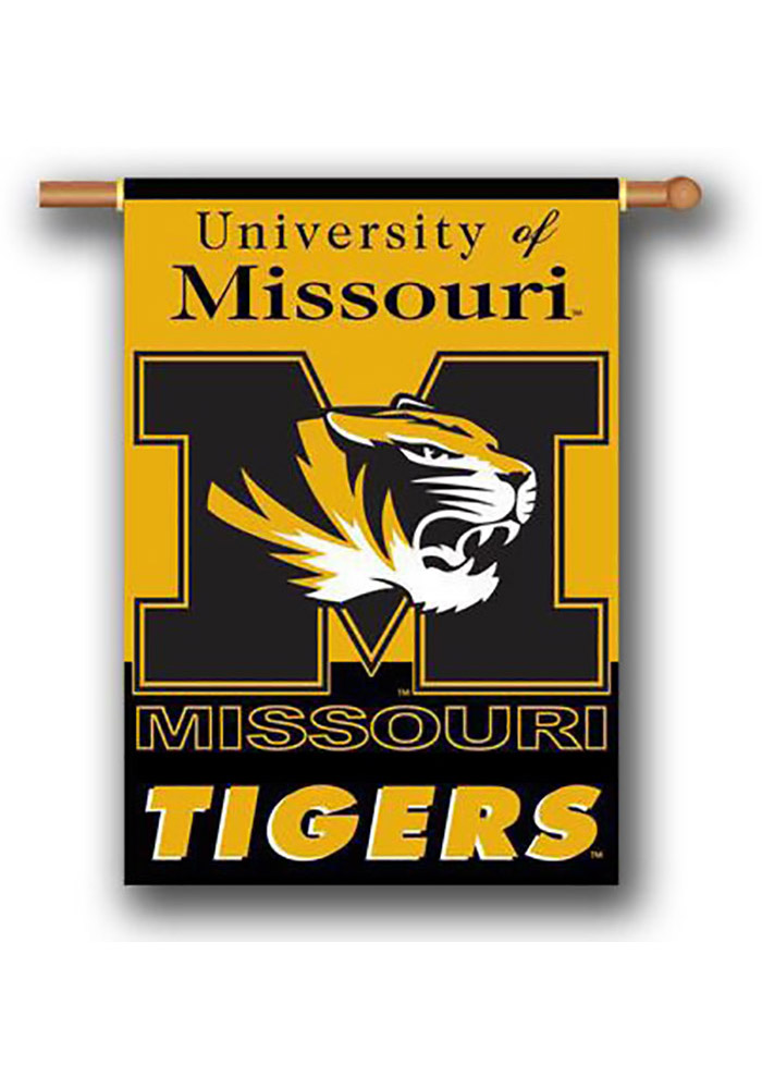 Missouri Tigers 28x40 Yellow Sleeve Banner - Image 1