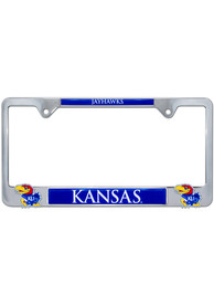 Kansas Jayhawks 3D Logo License Frame