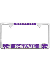 K-State Wildcats 3D Logo License Frame