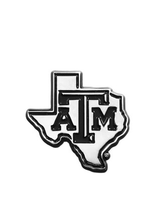 Texas am aggies chrome texas shaped car accessory car emblem