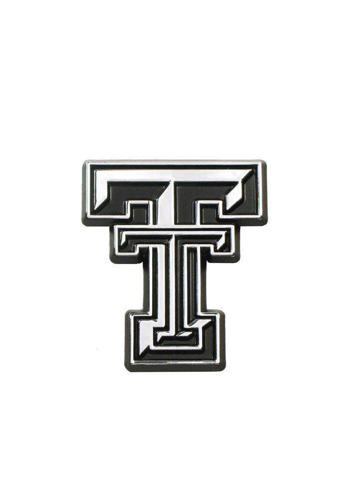 Texas Tech Red Raiders Chrome Car Accessory Car Emblem 7020043