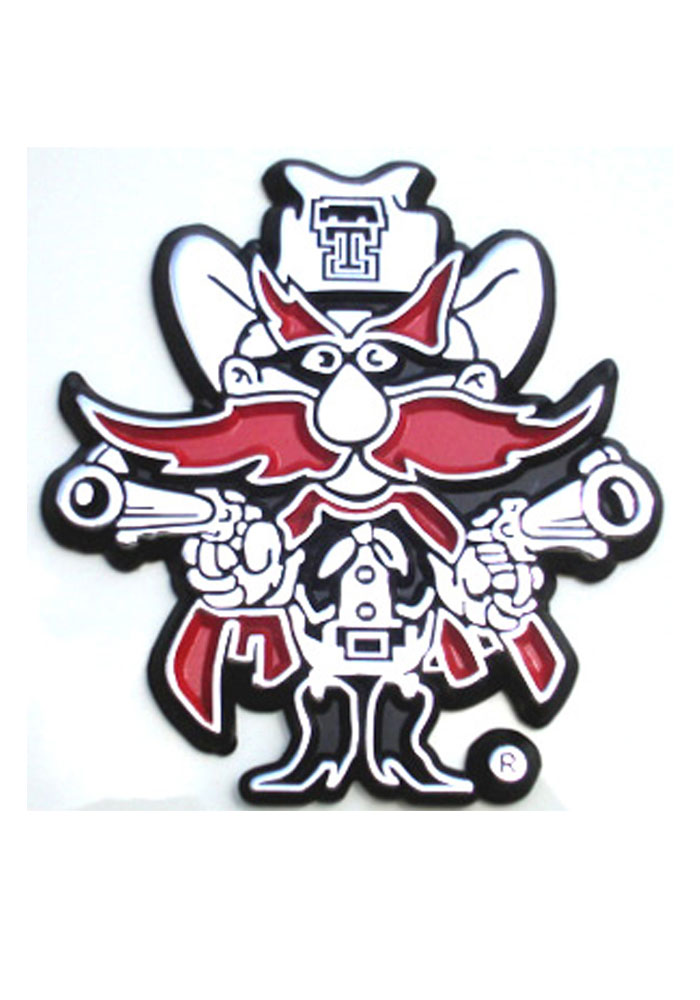 Texas Tech Red Raiders Mascot Car Accessory Car Emblem 7020049