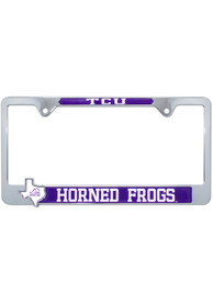 TCU Horned Frogs State Pride License Frame