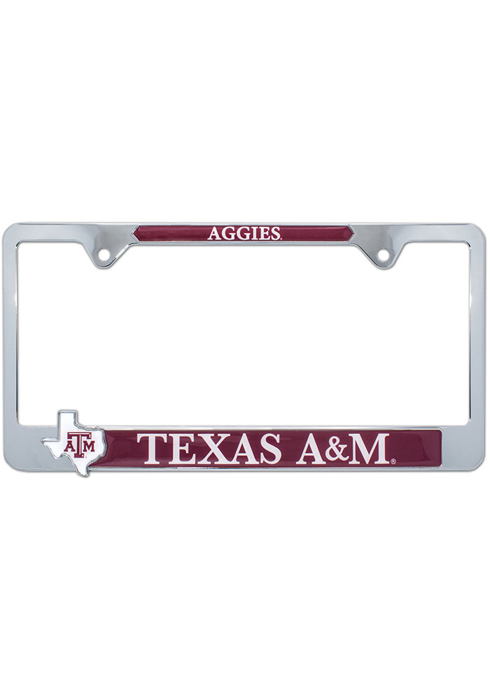 Texas A&M Aggies State Pride License Frame - Image 1
