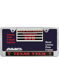 Texas Tech Red Raiders 4 Pack Insert License Frame