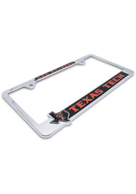 Texas Tech Red Raiders State Pride License Frame