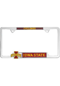 Iowa State Cyclones 3D Metal License Frame