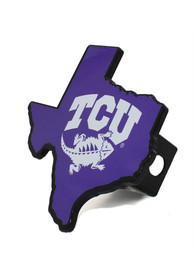 TCU Horned Frogs Heavy Duty Car Accessory Hitch Cover