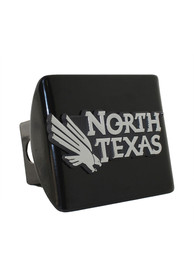 North Texas Mean Green Black Metal Car Accessory Hitch Cover
