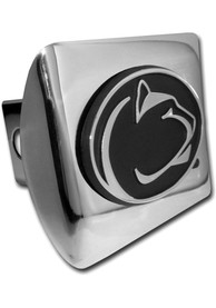 Penn State Nittany Lions Chrome Car Accessory Hitch Cover